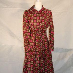 Vintage skirt and top set, small/medium